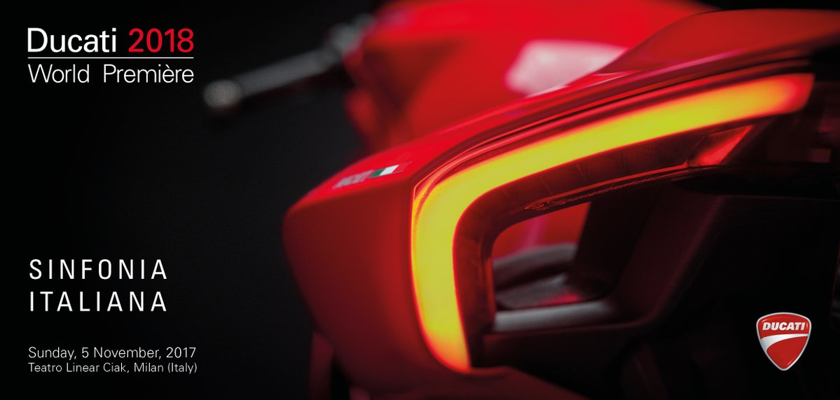RT @DucatiUK: The countdown has begun to the Ducati World Première 2018: https://t.co/3bY2XNvKs2 #DucatiPremiere https://t.co/YF54xsIjZk