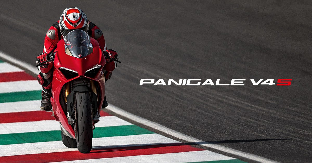 """Panigale V4 - the start of a  New Era. See the machine MCN describe as """"simply astounding"""" now in our Harston showroom near Cambridge - https://goo.gl/i7CEEH"""