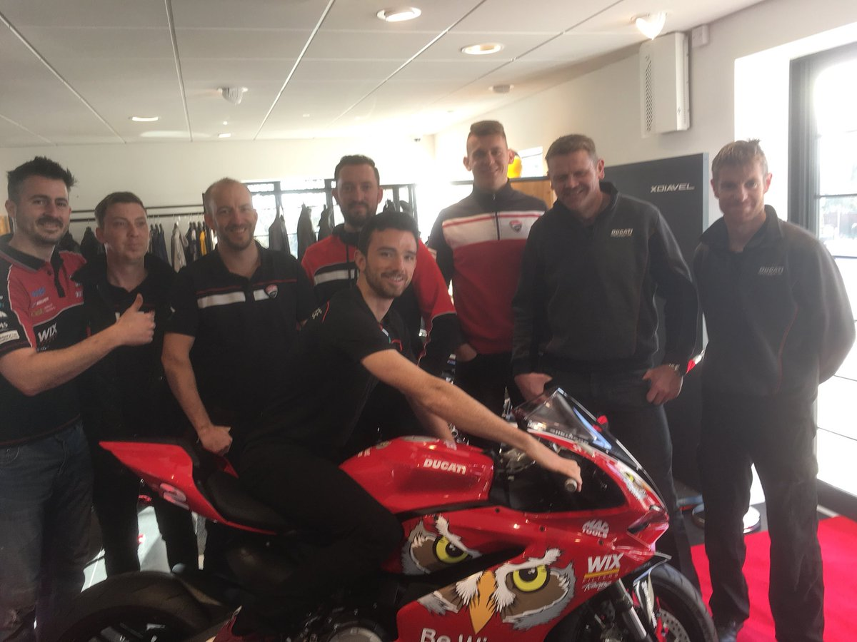 Good luck @GIrwinRacing and all @PBM_Team for Cartagena testing. Looking forward to an awesome seasons racing ahead. https://t.co/6147czq1dX