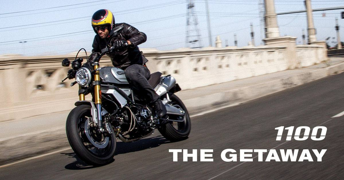 Coming soon, the compact and muscular new Scrambler 1100 glorifies the Land of Joy spirit. Contact us now to find out more and #ridebigger