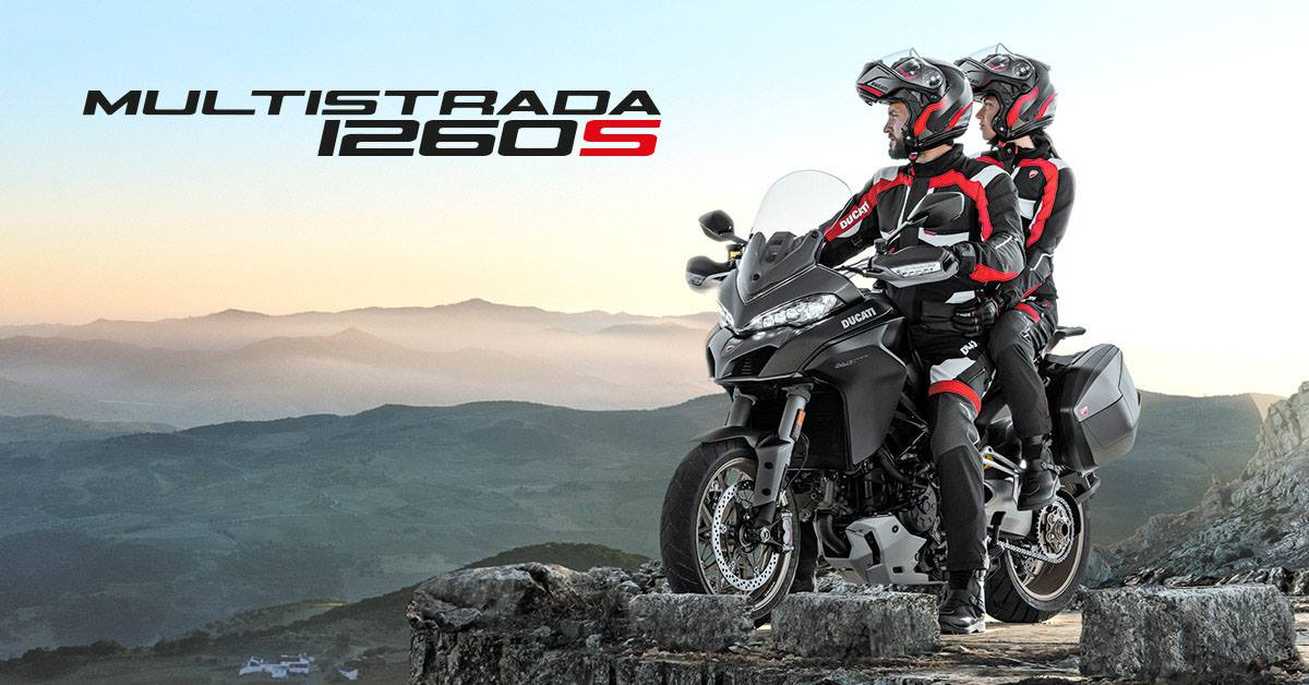 Expand your comfort zone on the new Multistrada 1260. See it in our Wansford showroom near Peterborough now