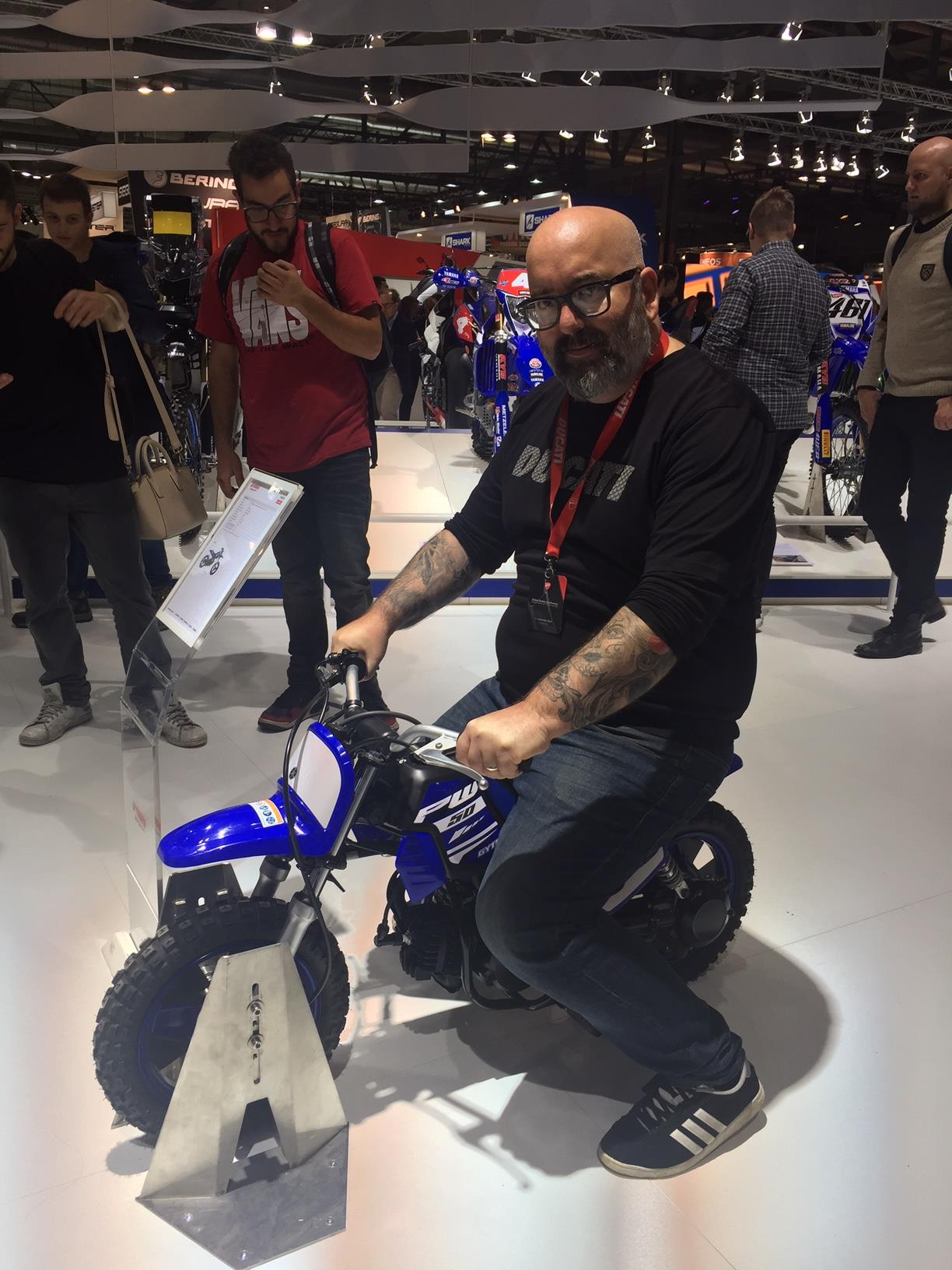 Our Head of Vindis Ducati is at EICMA 2018 and is testing out the competition, obviously he loves the Ducati but by the look on his face he also quite likes the Alterra!