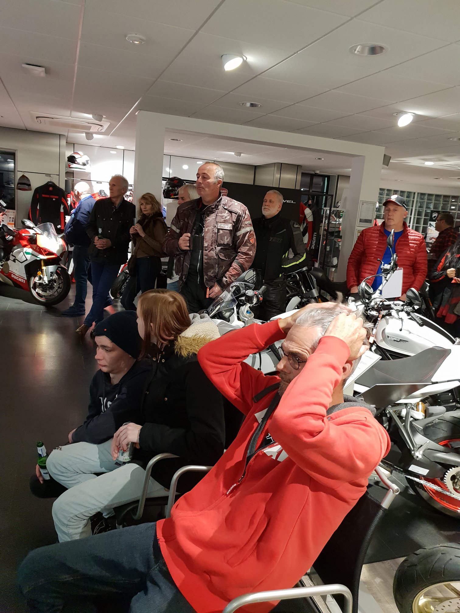 Yesterday, the teams at our Vindis Ducati stores in Cambridge and Peterborough hosted customers for the Ducati 2019 World Premiere screening. Thank you to all  those who attended.