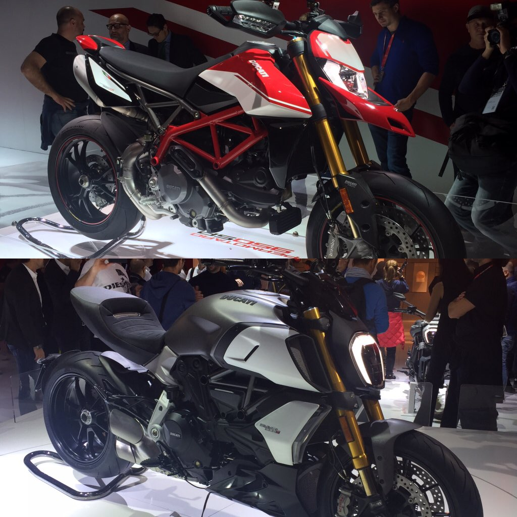 Profiles  #Ducati #diavel #hypermotard #EICMA2018 https://t.co/cOz23HCxRa
