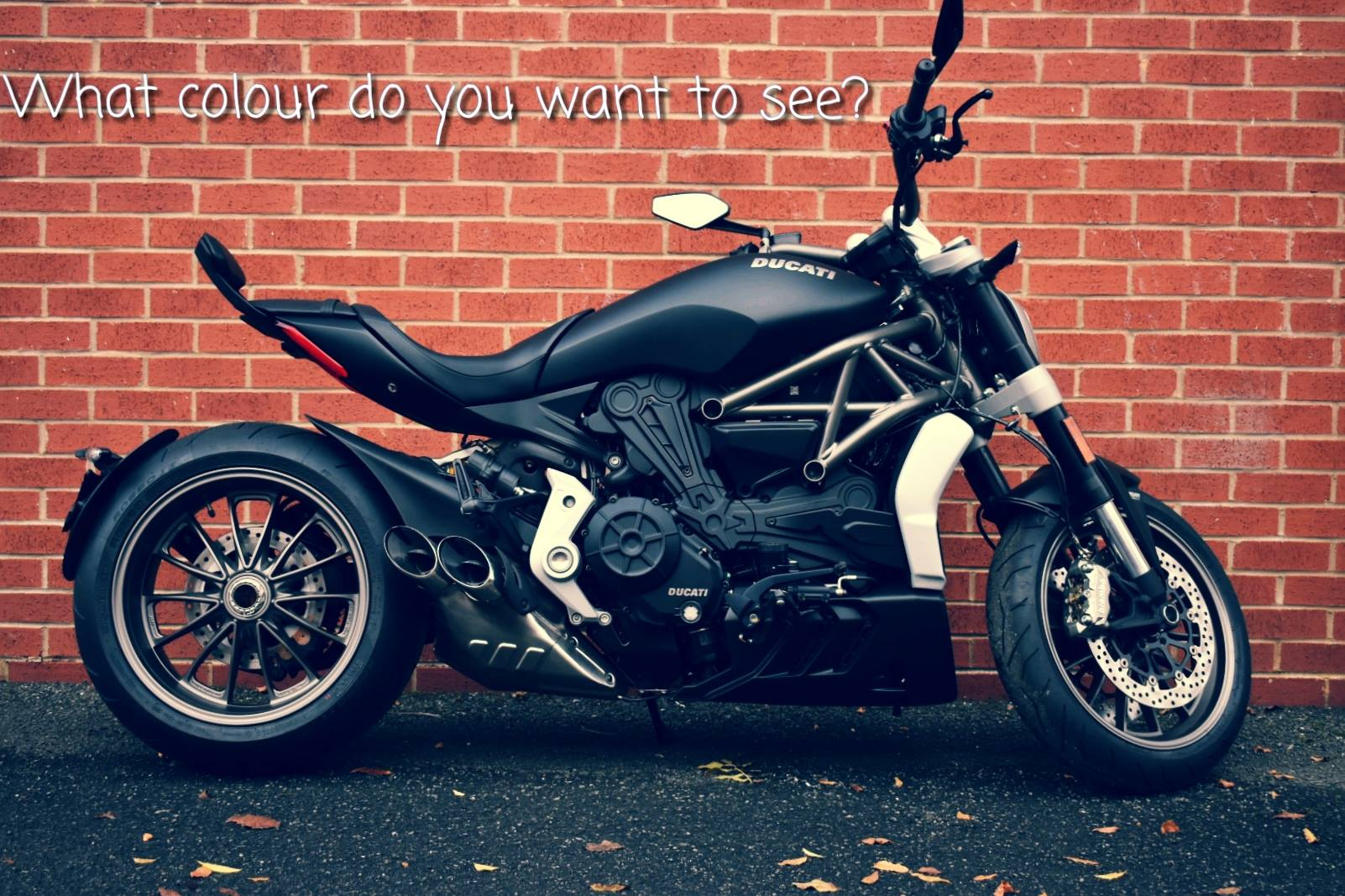 The team at Cambridge fancied a winter project... so we're taking an Xdiavel and giving it a new look. And we want you to decide the colour! comment below or come in have your say! #newlook #xdiavel