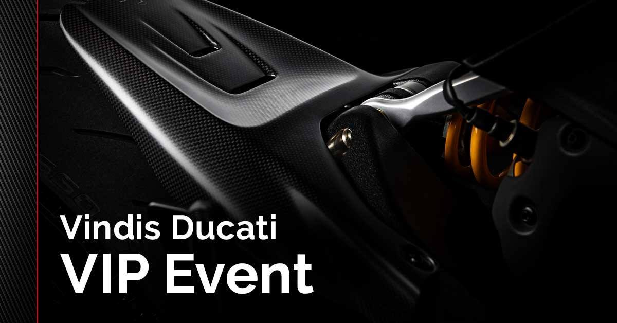 The Vindis Ducati VIP Event is coming between Friday 15 - Monday 18 February. Savings of up to £4,795 are available across the range on selected new stock bikes. For more information please visit: https://vindisducati.com/blog/vindis-ducati-sales-event