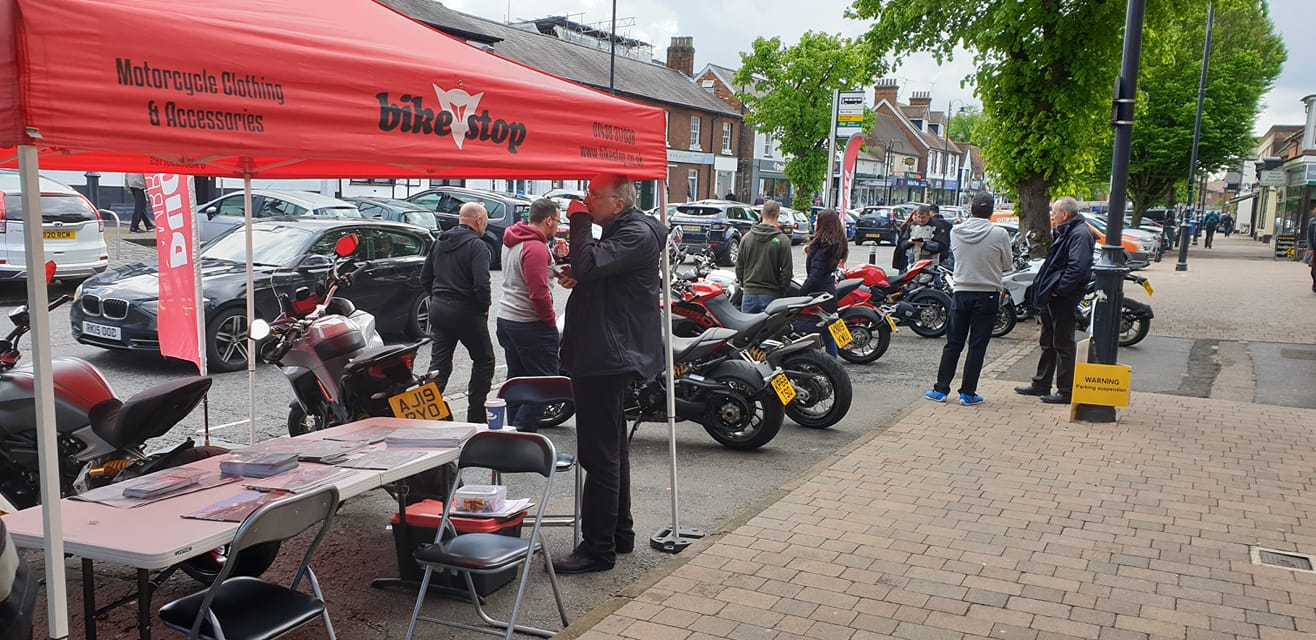 Spaces for test rides are now filling up, the sun is out so come down to bikestop and book a ride on the latest Ducatis!